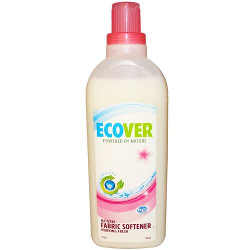 Ecover, Natural Fabric Softener, Morning Fresh, 32 fl oz (946 ml) Review