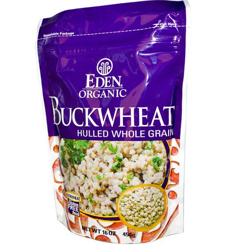 Eden Foods, Organic, Buckwheat, Hulled Whole Grain, 16 oz (454 g) Review