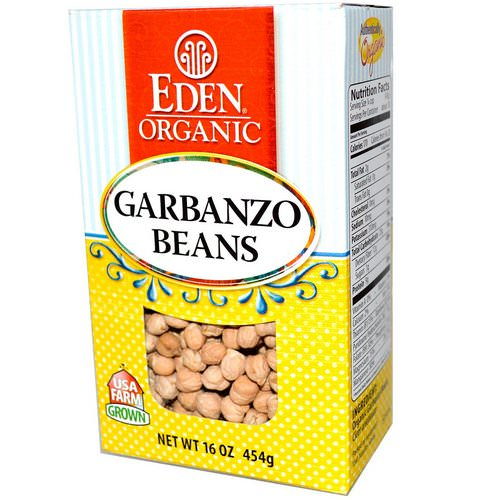 Eden Foods, Organic Garbanzo Beans, 16 oz (454 g) Review