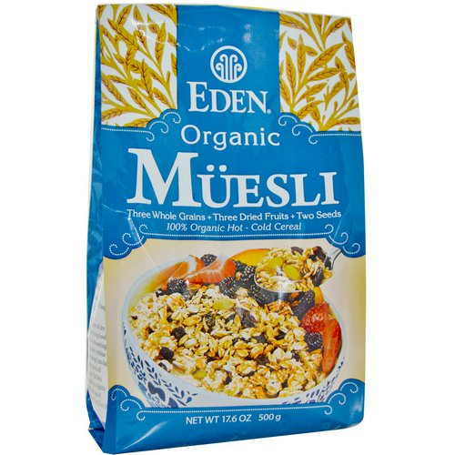 Eden Foods, Organic Muesli, 17.6 oz (500 g) Review