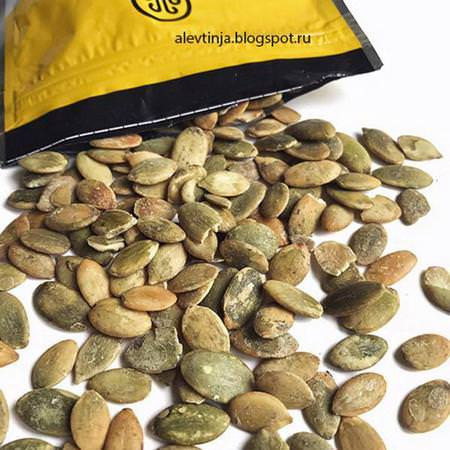 Organic, Pumpkin Seeds, Dry Roasted