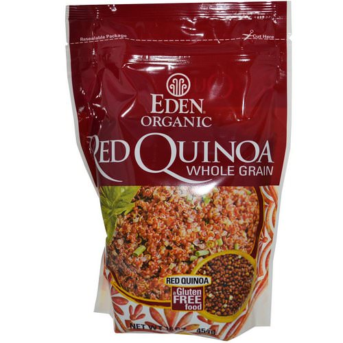 Eden Foods, Organic Red Quinoa, Whole Grain, 16 oz (454 g) Review