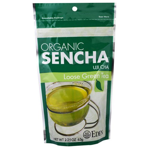 Eden Foods, Organic Sencha, Uji Cha, Loose Green Tea, 2.25 oz (63 g) Review