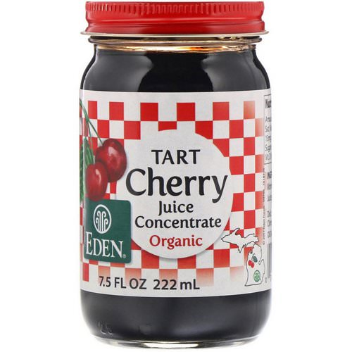 Eden Foods, Organic Tart Cherry Juice Concentrate, 7.5 fl oz (222 ml) Review