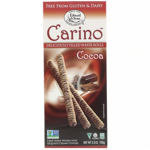 Edward & Sons, Carino Filled Wafer Rolls, Cocoa, 3.5 oz (100 g) Review