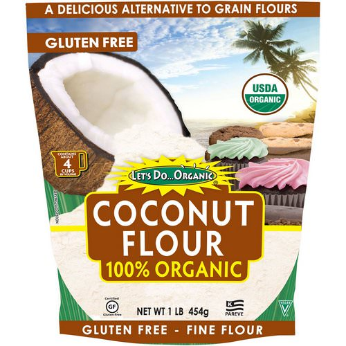 Edward & Sons, Let's Do Organic, 100% Organic Coconut Flour, 1 lb (454 g) Review
