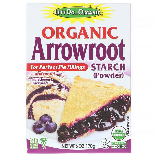 Edward & Sons, Let's Do Organic, Organic Arrowroot Starch, 6 oz (170 g) Review