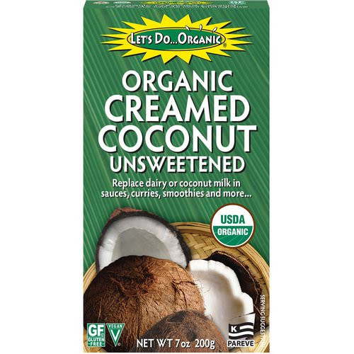 Edward & Sons, Let's Do Organic, Organic Creamed Coconut, Unsweetened, 7 oz (200 g) Review