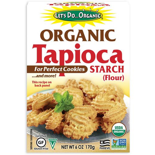 Edward & Sons, Let's Do Organic, Organic Tapioca Starch (Flour), 6 oz (170 g) Review