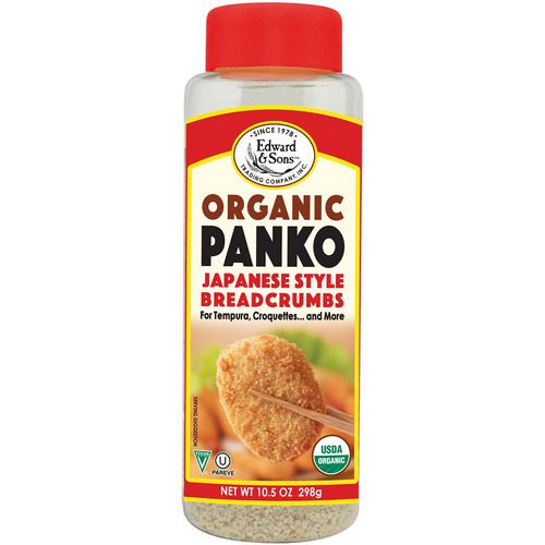 Edward & Sons, Organic Panko, Japanese Style Breadcrumbs, 10.5 oz (298 g) Review