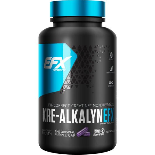 EFX Sports, Kre-Alkalyn EFX, 120 Capsules Review
