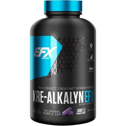 EFX Sports, Kre-Alkalyn EFX, 240 Capsules Review