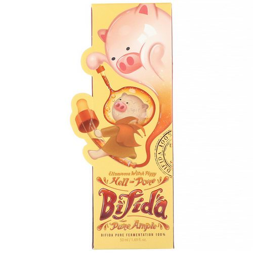 Elizavecca, Witch Piggy, Hell-Pore, Bifida Pure Ample, 1.69 fl oz (50 ml) Review