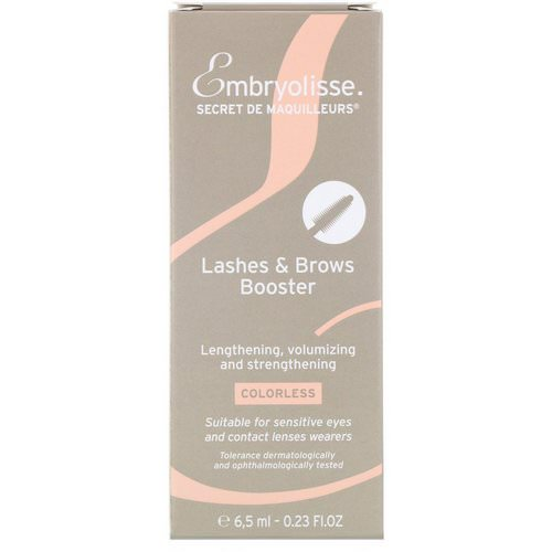 Embryolisse, Lashes & Brows Booster, 0.23 fl oz (6.5 ml) Review