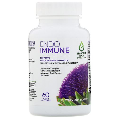 Emerald Health Bioceuticals, Endo Immune, 60 Vegan Softgels Review