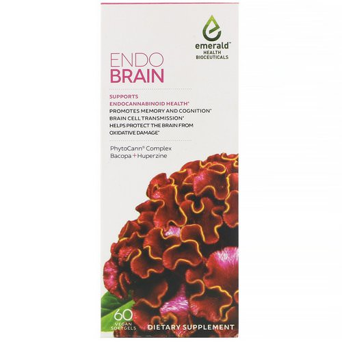 Emerald Health Bioceuticals, EndoBrain, 60 Vegan Softgels Review