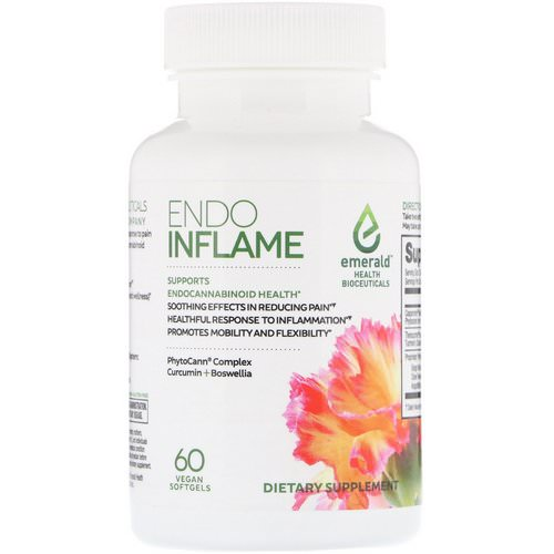 Emerald Health Bioceuticals, EndoInflame, 60 Vegan Softgels Review