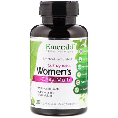 Emerald Laboratories, CoEnzymated Women's 1-Daily Multi, 30 Vegetable Caps Review