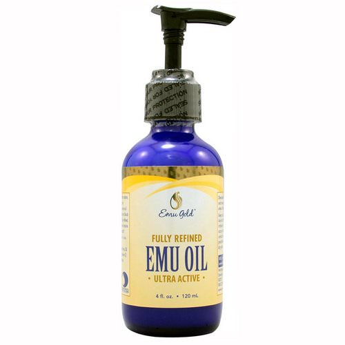 Emu Gold, Emu Oil, Fully Refined, Ultra Active, 4 fl oz (120 ml) Review