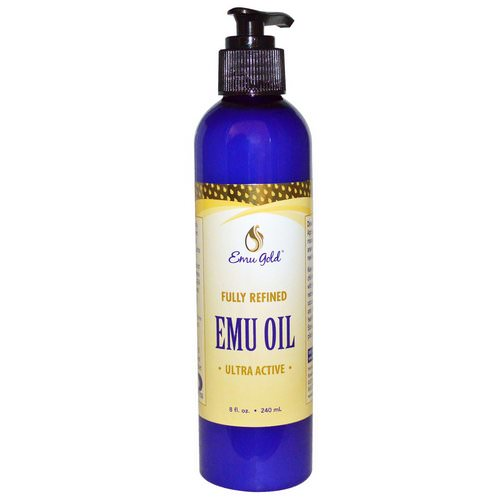 Emu Gold, Emu Oil, Ultra Active, 8 fl oz (240 ml) Review