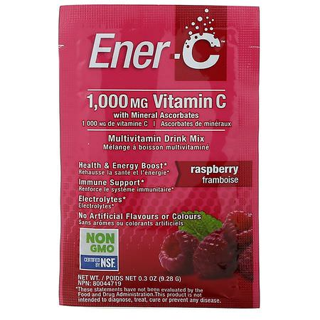 Ener-C, Vitamin C Formulas, Cold, Cough, Flu