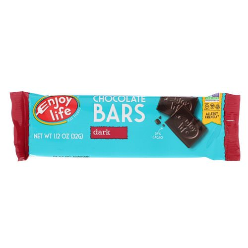 Enjoy Life Foods, Chocolate Bars, Dark, 1.12 oz (32 g) Review