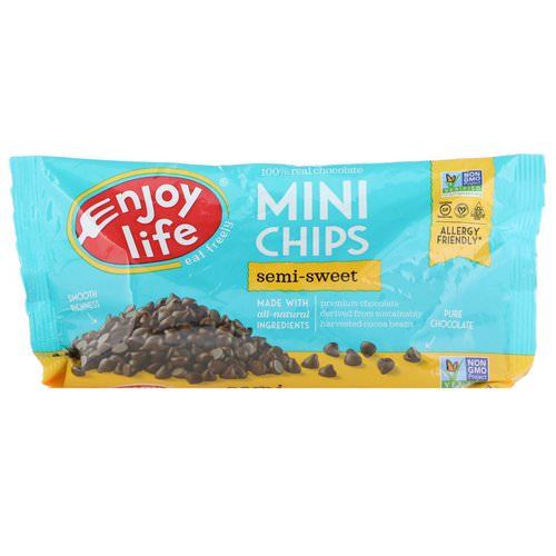 Enjoy Life Foods, Mini Chips, Semi-Sweet Chocolate, 10 oz (283 g) Review