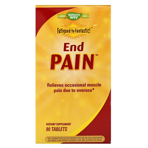Nature's Way, Fatigued to Fantastic! End Pain, 90 Tablets Review