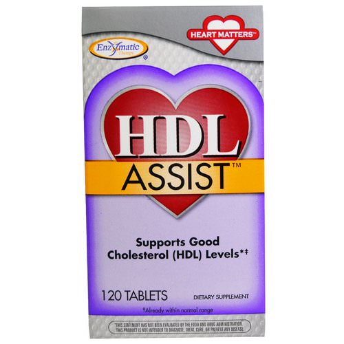 Nature's Way, HDL Assist, 120 Tablets Review