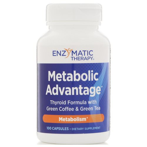 Nature's Way, Metabolic Advantage, Metabolism, 100 Capsules Review
