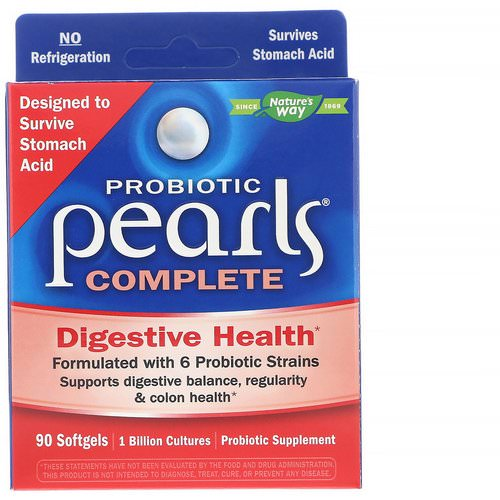 Nature's Way, Probiotic Pearls Complete, 90 Softgels Review