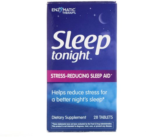 Enzymatic Therapy, Sleep Tonight, 28 Tablets Review