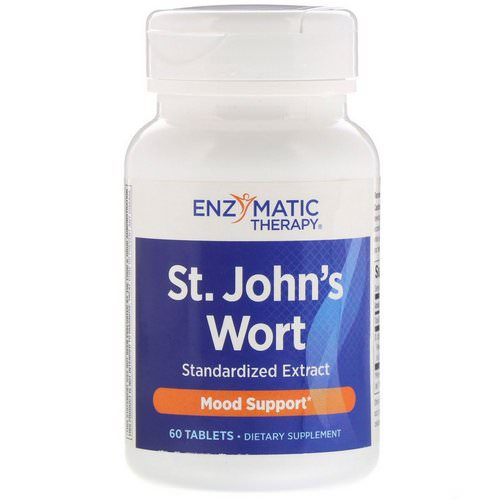 Enzymatic Therapy, St. John's Wort, 60 Tablets Review