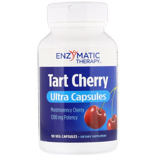 Enzymatic Therapy, Tart Cherry, Ultra Capsules, 90 Veg Capsules Review