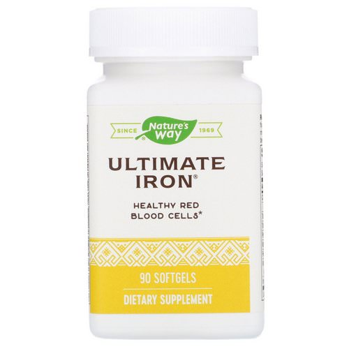 Nature's Way, Ultimate Iron, 90 Softgels Review