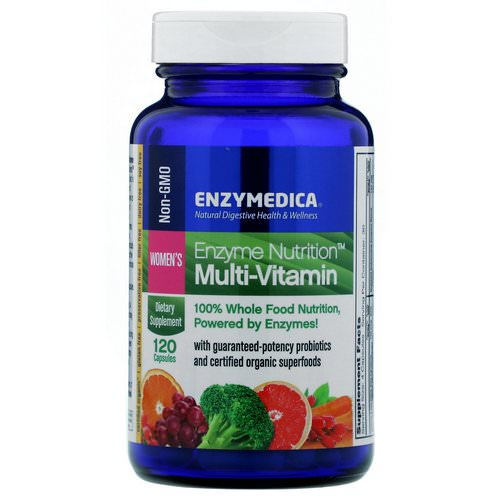 Enzymedica, Enzyme Nutrition Multi-Vitamin, Women's, 120 Capsules Review