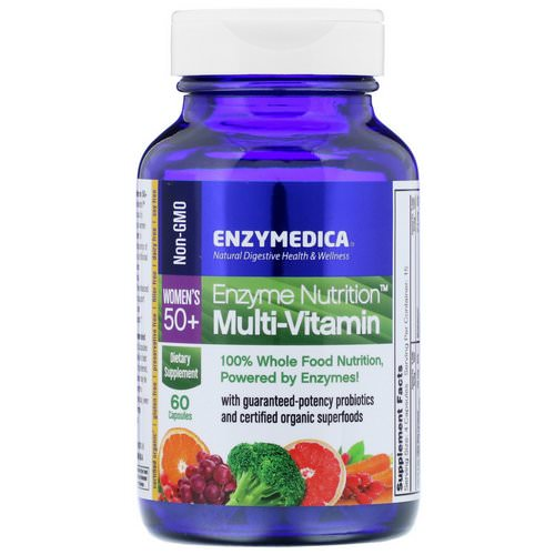 Enzymedica, Enzyme Nutrition, Multi-Vitamin, Women's 50+, 60 Capsules Review