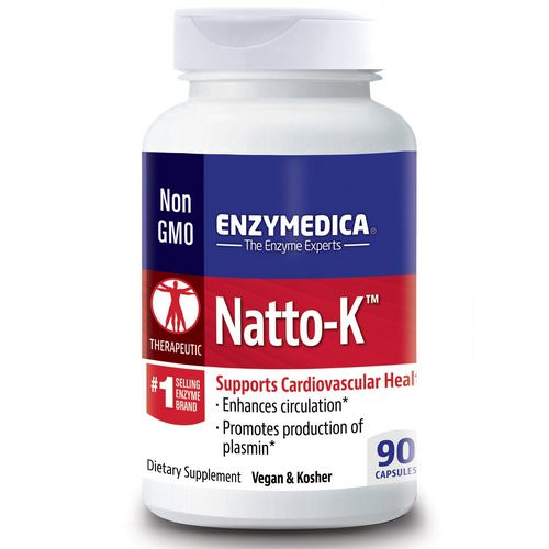 Enzymedica, Natto-K, Cardiovascular, 90 Capsules Review