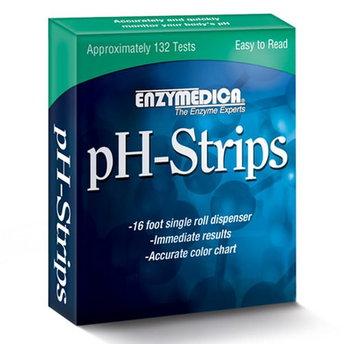 Enzymedica, pH-Strips, 16 Foot Single Roll Dispenser Review