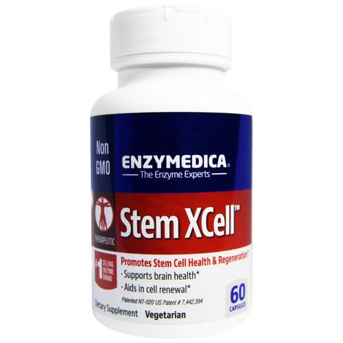 Enzymedica, Stem XCell, 60 Capsules Review