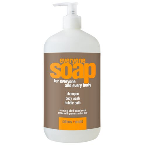 EO Products, Everyone Soap for Everyone and Every Body, Citrus + Mint, 32 fl oz (960 ml) Review
