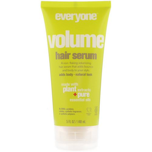 EO Products, Everyone Volume Hair Serum, 5 fl oz (148 ml) Review