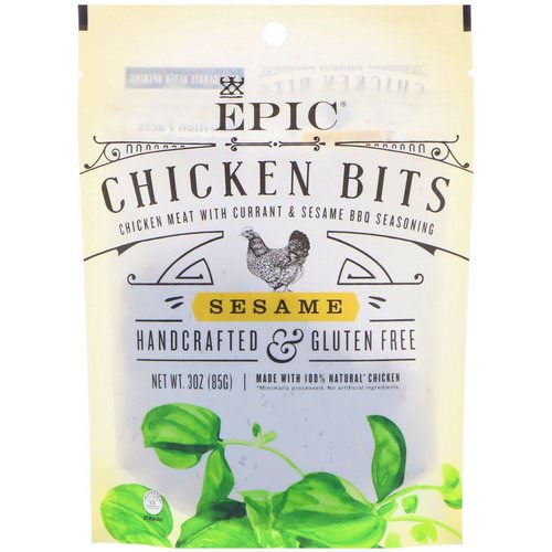 Epic Bar, Chicken Bits, Sesame, 3 oz (85 g) Review