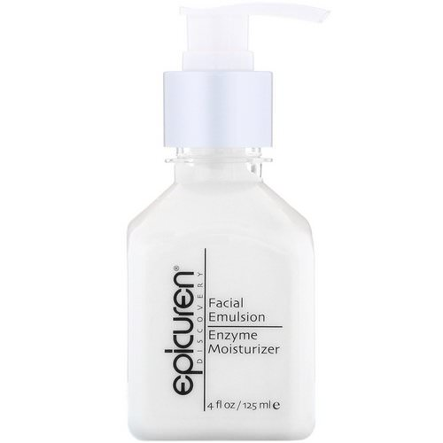 Epicuren Discovery, Facial Emulsion Enzyme Moisturizer, 4 fl oz (125 ml) Review