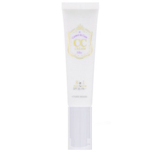 Etude House, Correct & Care CC Cream, SPF 30 PA++, Silky, 1.23 oz (35 g) Review
