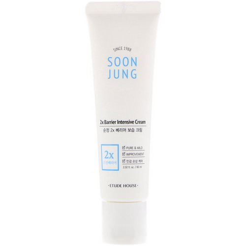 Etude House, Soon Jung, 2x Barrier Intensive Cream, 2.02 fl oz (60 ml) Review