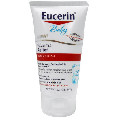 Eucerin, Baby, Eczema Relief, Body Creme, 5.0 oz (141 g) Review
