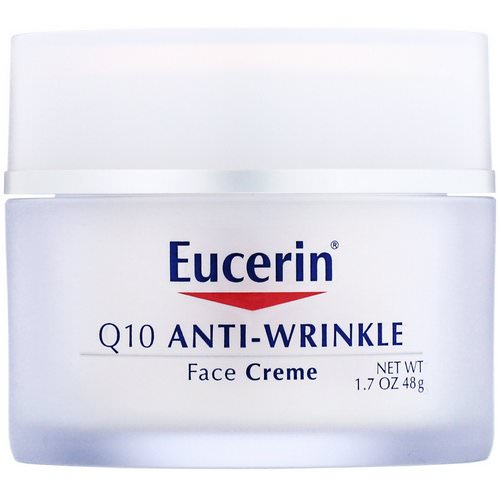 Eucerin, Q10 Anti-Wrinkle Face Creme, 1.7 oz (48 g) Review