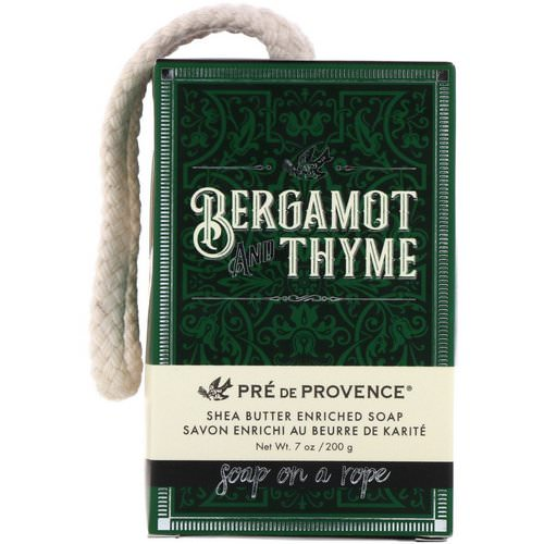 European Soaps, Pre de Provence, Soap On A Rope, Bergamot & Thyme, 7 oz (200 g) Review