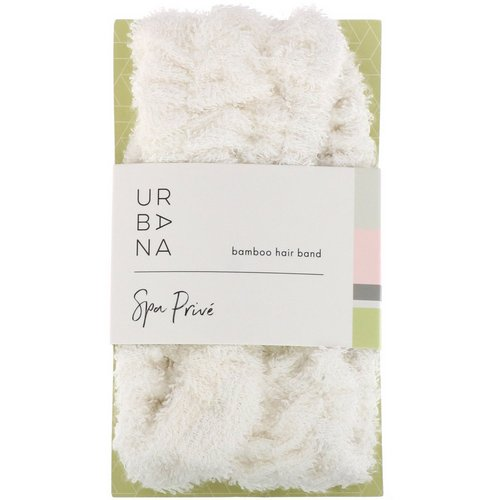 European Soaps, Urbana, Spa Prive, Bamboo Hair Band, 1 Hair Band Review